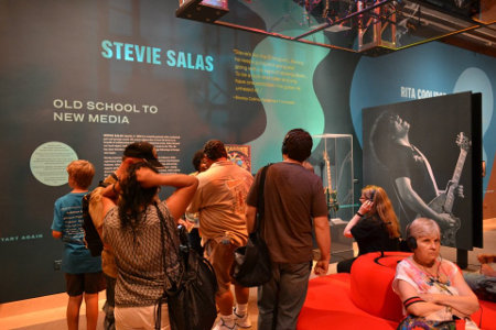 Stevie Salas in the Smithsonian