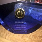 Koshi Inaba/Stevie Salas receive Gold Record